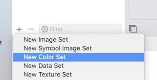 Add Color Asset
